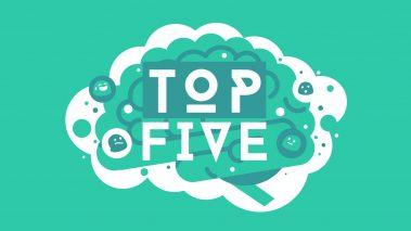 Top five videos