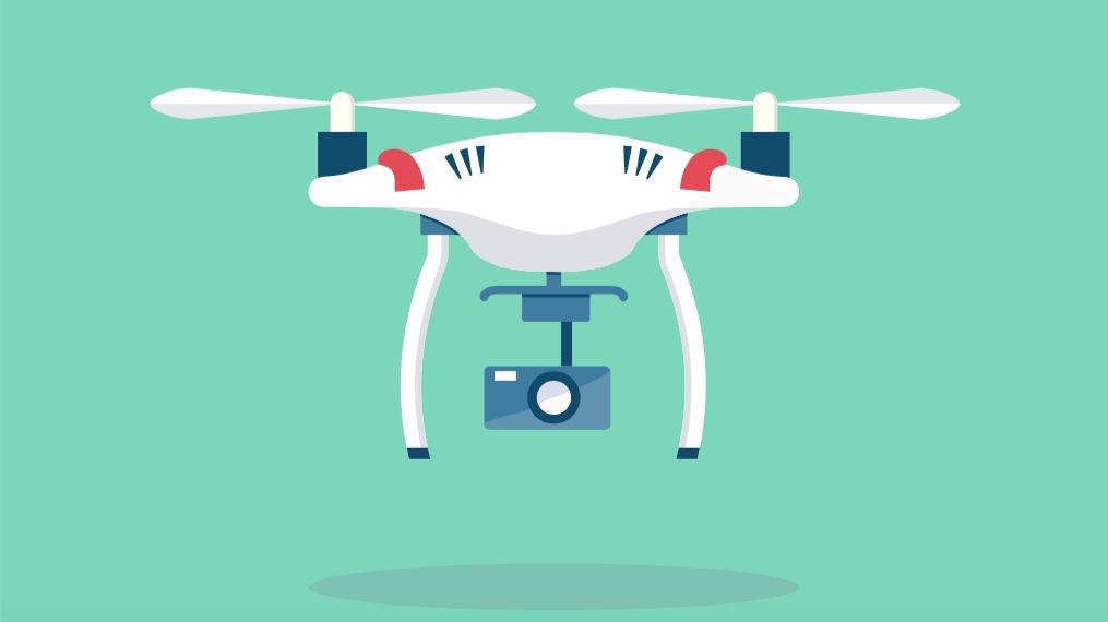 drones filming