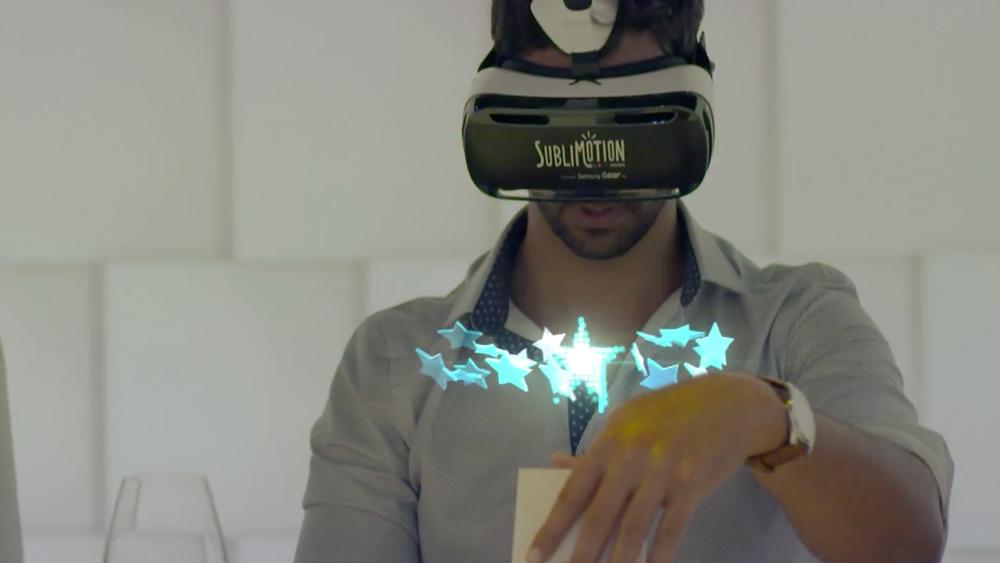 Sensory overload VR retail