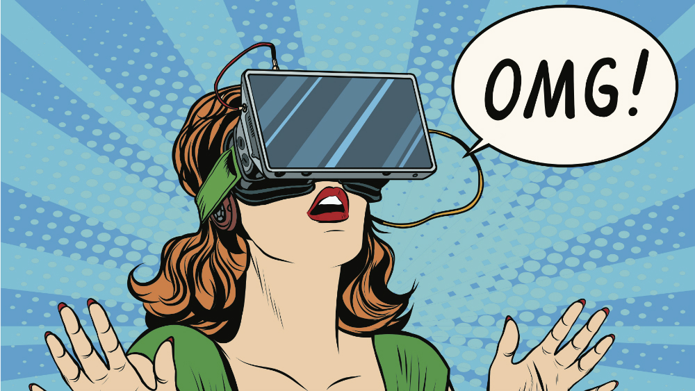 OMG VR POP ART