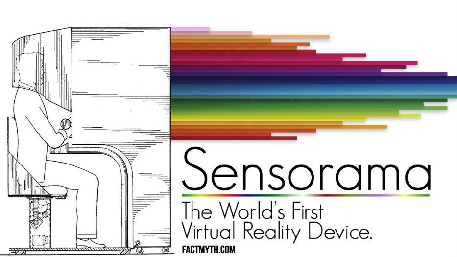 sensorama the first VR device