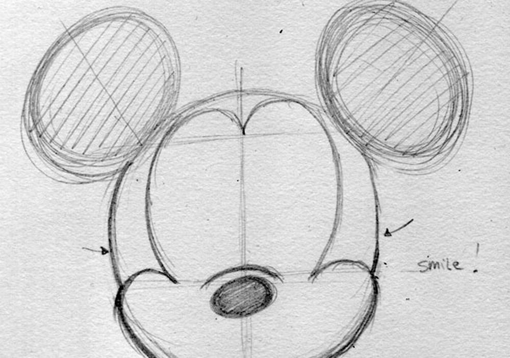 Disney sketch animation