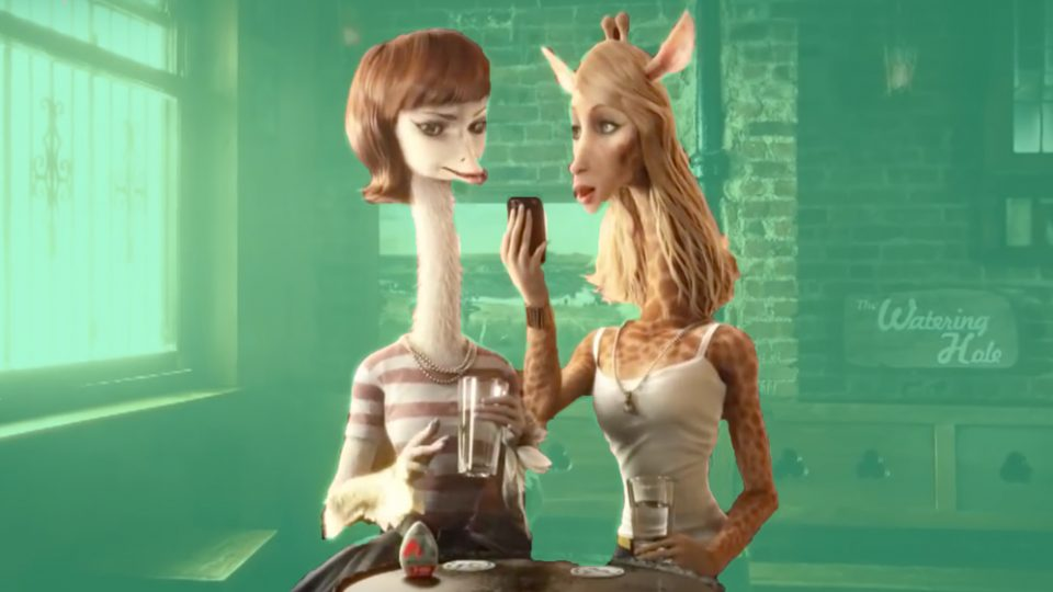 The weirdest animated adverts